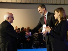 Miguel Milà: Gold Medal for Merit in Fina Arts 2016